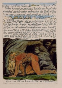 Nebuchadnezzar. William Blake. 1795